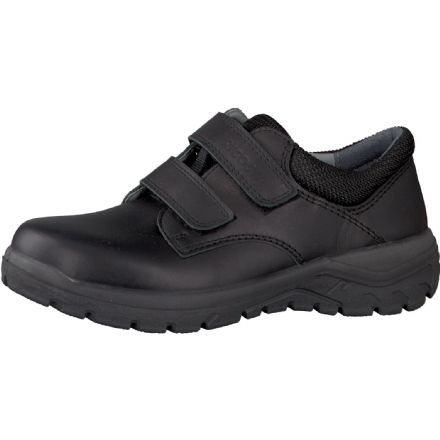 Ricosta JACK Leather Velcro School Shoes (Black)